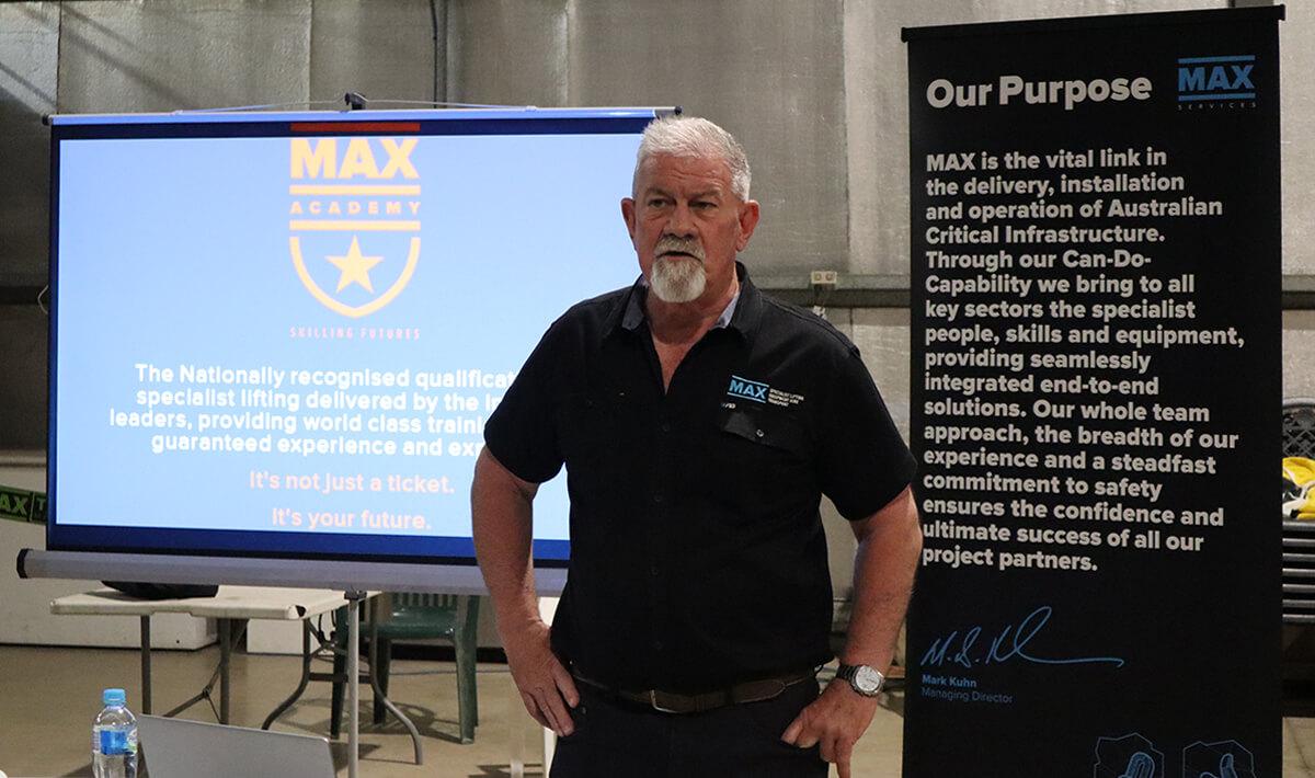 Managing Director Mark Kuhn