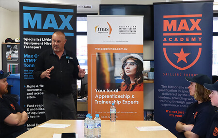 MAX Academy Launch